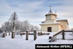 Восстановленный храм в Ключевой