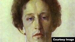 К. Сомов. Портрет Блока.