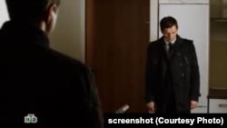 В материалах уголовного дела есть видеозапись отрывка сериала с логотипом НТВ