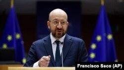 Председатель Европейского совета Шарль Мишель.