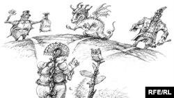Художник Михаил Златковский тоже размышляет о том, по какому пути пойдет Россия