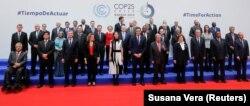 Gutereš je rekao da je klimatska kriza već tu, te da politički lideri moraju da reaguju. (Zajednička fotografija lidera sa samita)