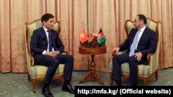 Чыңгыз Айдарбеков жана Салахуддин Раббани