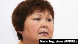 Тамара Еслямова, издатель газеты «Уральская неделя». Алматы, 29 марта 2011 года.