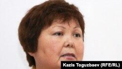Тамара Еслямова, «Уральская неделя» басылымының бас редакторы. Алматы, 29 наурыз 2011 жыл