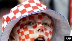 Хорватские болельщики успели поверить в победу, но их вера продержалась чуть больше минуты