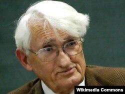 Немецкий философ и социолог Юрген Хабермас