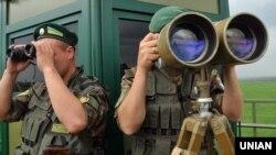 Украинские пограничники, иллюстрационное фото