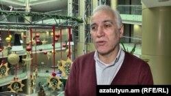 Armenia -- Economist Vahagn Khachatrian speaks to RFE/RL, 22Dec2017.