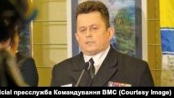 Бывший замначальника штаба ВМС Украины, капитан 1 ранга Андрей Рыженко