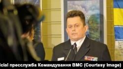 Андрій Риженко, колишній заступник начальника штабу ВМС з євроатлантичної інтеграції, капітан 1-го рангу