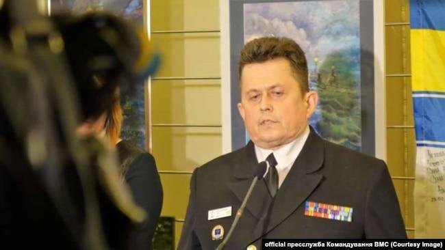 Андрей Рыженко, заместитель начальника штаба ВМС Украины по вопросам евроатлантической интеграции