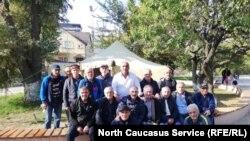 Дагестанские ветераны войны в Афанистане