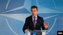 Sekretari i përgjithshëm i NATO-s, Anders Fogh Rasmuseen.