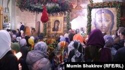 Православная пасха в Москве