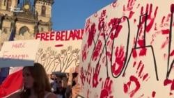 У Чехії тисячі людей вийшли підтримати білоруський народ – відео