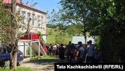 Дом в селе Дзеври, в котор жил погибший ребенок