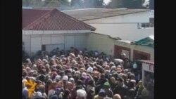 Astara gömrüyündən İrana kütləvi axın