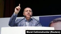 Президент Режеп Тайып Эрдоган