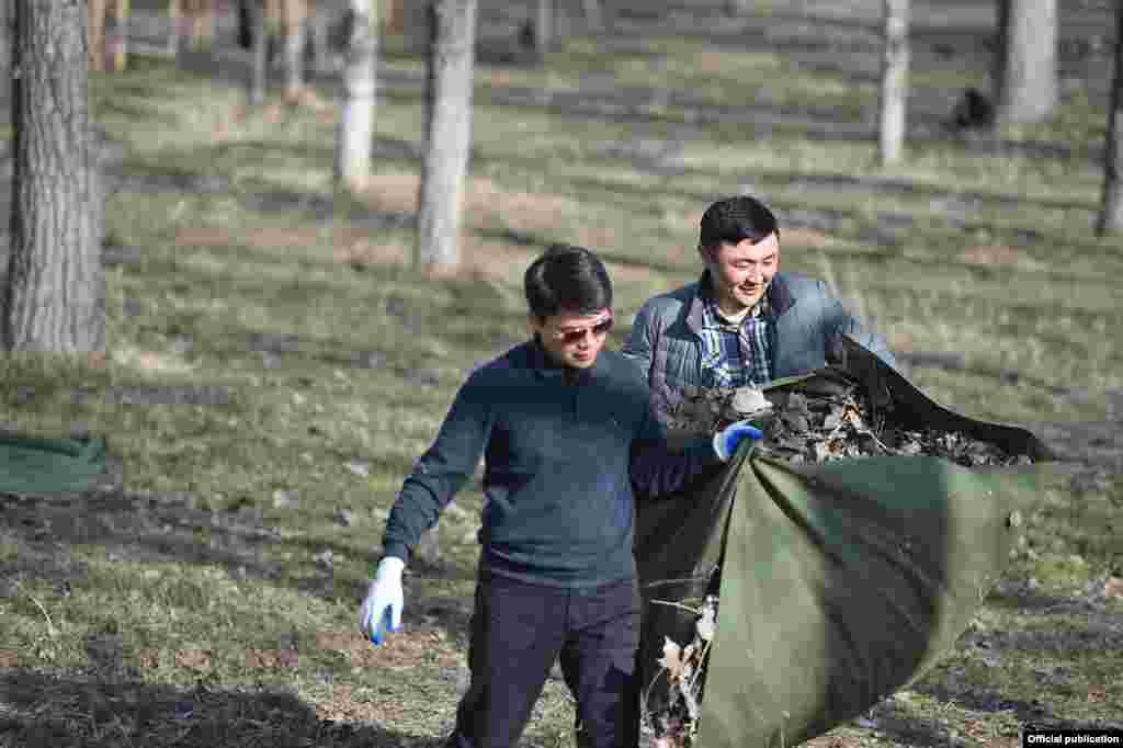 Кыргызстанда 1-марттан тарта 31-майга чейин жалпы өлкө боюнча үч айлык ишембилик өнөктүгү жарыялаган.
