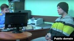 Роман Халилов. Фрагмент оперативной съемки.