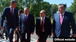 Президенты государств-членов ОДКБ, Бишкек, 28 мая 2013 года.