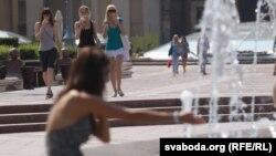 Belarus – Hot weather. Minsk, 22Jul2010