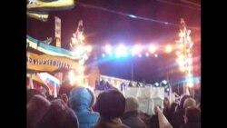 Выступление Путина и Медведева