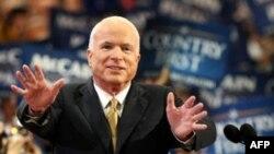 John McCain në Konventën e Republikanëve, 4 shtator 2008.