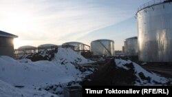 Кара-Балтадагы мунай заводу.