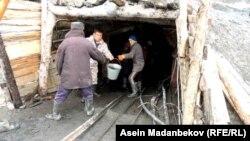 Поисково-спасательные работы на шахте Жыргалан
