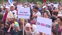 Қирғизистон: Атамбаевнинг тарафдорлари амалдаги ҳукуматга ультиматум қўйди