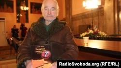 Український історик, колишній дисидент, політв'язень Валентин Мороз, Львів, 30 січня 2014 року