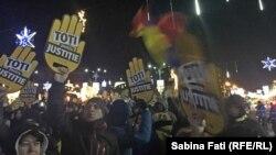 Protest u Bukureštu, 10. decembar 2017.