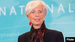 Кристин Лагард, Халықаралық валюта қорының директоры.