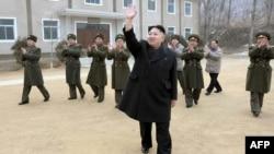 Сегашниот лидер на Северна Кореа Ким Јонг Ун
