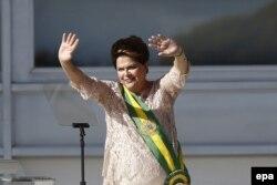 Президент Бразилии Дилма Русефф