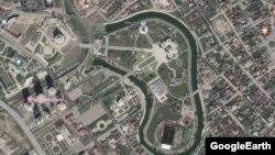 Google карти тIехь Кадыровн резиденци