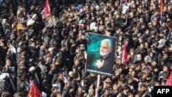 Похороны генерала Касема Сулеймани, Керман. 7 января 2020 года