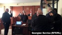 ერთ-ერთი პროცესი ბათუმის საქალაქო სასამართლოში