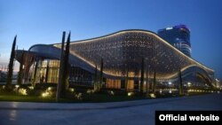 Tashkent City'даги конгресс-холл.
