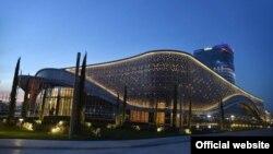 Uzbekistan - The Congress Hall of the Tashkent City business district, Tashkent, October, 2019