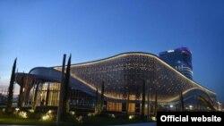 Конгресс-центр в Tashkent City.