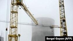 Будоўля Беларускай АЭС, 12 кастрычніка 2017 году, Астравец. Ілюстрацыйнае фота
