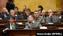 Skupština Srbije, Beograd, 28. januar