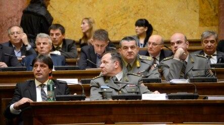 Ministar odbrane Bratislav Gašić na sednici Odbora za kontrolu službi bezbednosti
