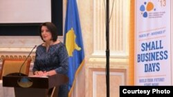 Presidentja e Kosovës, Atifete Jahjaga.