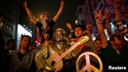 Антивладини протести во Анкара.