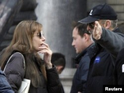 Angelina Jolie na snimanju filma, oktobar 2010.