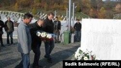 Ratni veterani iz Srbije i BiH u Potočarima, 17. novembar 2012.